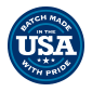 BATCH MADE USA WITH PRIDE