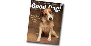 雑誌Good Dog! Magazineの記事